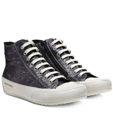 Iridescent Smarto High Top Trainers