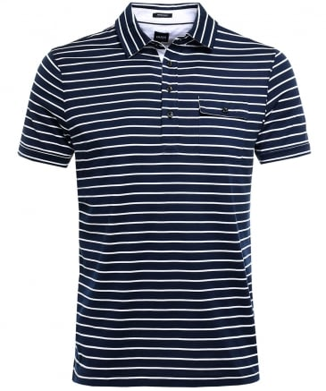 Regular Fit Striped Press 25 Polo Shirt