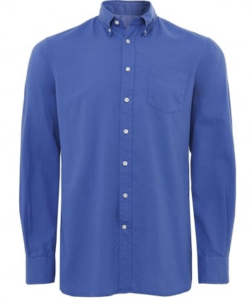 Classic Fit Délavé Oxford Shirt