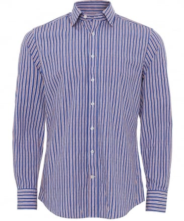 Slim Fit Union Stripe Shirt