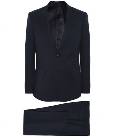 Tailored Fit Pin Dot Wool Suit