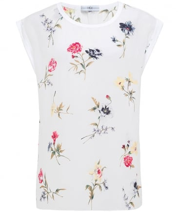 Debut Floral Sleeveless Top