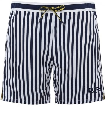 Striped Bannerfish Swim Shorts