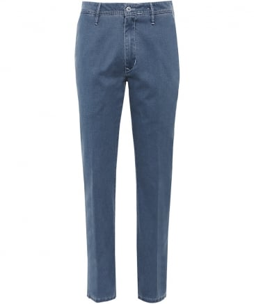 Textured Cotton Lupus Trousers