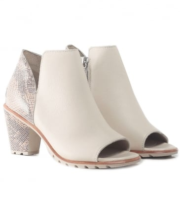 Nadia Peep Toe Booties