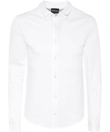 Slim Fit Jersey Cotton Shirt