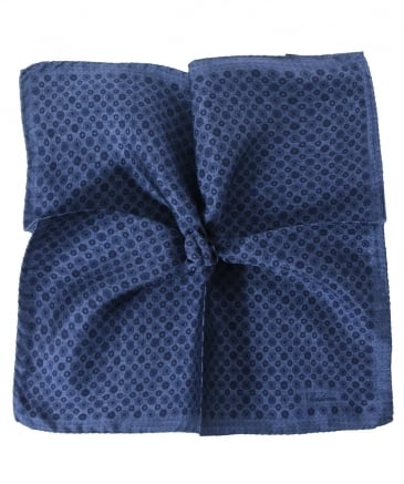 Silk Patterned Pocket Square