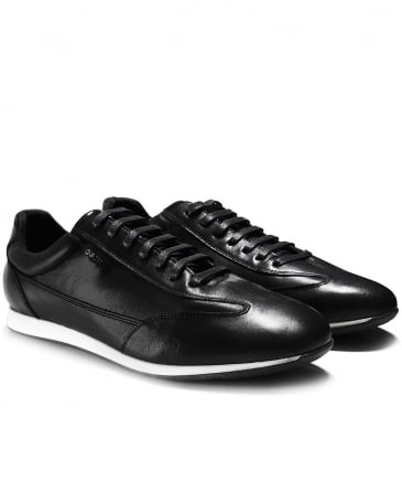 Leather Clemet Trainers