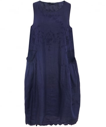 Kindly Embroidered Sleeveless Dress