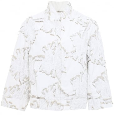 Bona Textured Cropped Jacket