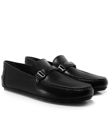 Leather Giona Driving Shoes