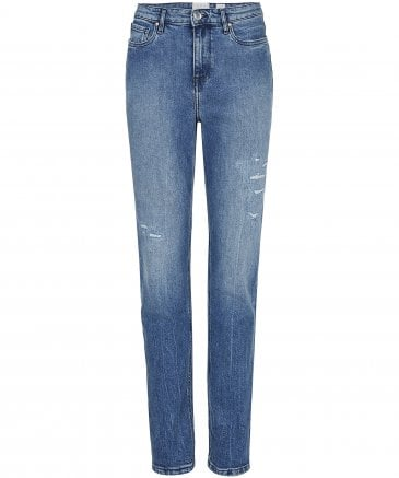 dd1c490f Tommy Hilfiger Women's Icons Gramercy High Waisted Jeans