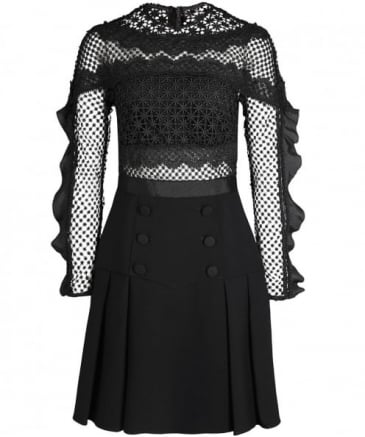 Bellis Lace Trim Dress