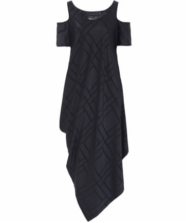 Kiko Cut Out Drape Dress